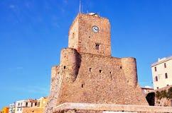 Termoli, Molise, Italy. Castle `svevo`, the symbol of the city Termoli Italy Royalty Free Stock Photo
