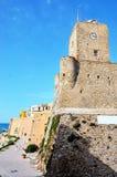 Termoli, Molise, Italy. Castle `svevo`, the symbol of the city Termoli Italy Stock Image