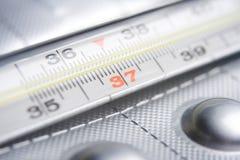 termometer royaltyfria bilder