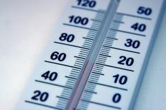 termometer Arkivfoto