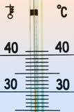 Termometer Royalty-vrije Stock Foto