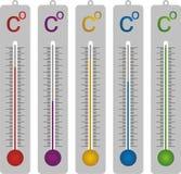 termometer celsius Стоковые Фото