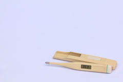Termometer eletrônico. Imagens de Stock Royalty Free