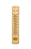 Termometer 45 grader Mycket varm dag Arkivfoton