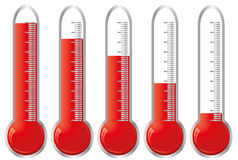 Termometers Royalty-vrije Stock Foto