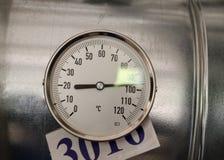 Termometertemperatur Arkivfoton