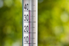 termometr Zdjęcia Royalty Free