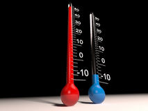 termometr Fotografia Royalty Free