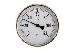 termometr przemysłowe Zdjęcia Royalty Free