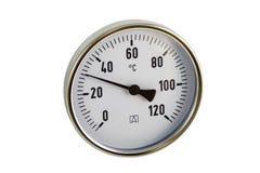 termometr przemysłowe Zdjęcie Stock