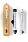 termometrar Fotografering för Bildbyråer