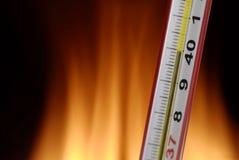 Termometro Fotografie Stock Libere da Diritti