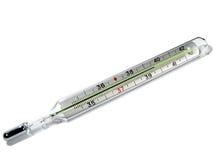 Termometro fotografie stock