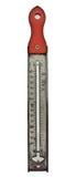 Termometro di caramella dell'annata fotografie stock