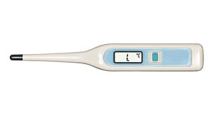 Termometro di Digitahi fotografia stock