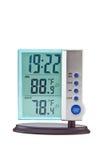 termometro digitale dell'orologio Fotografia Stock Libera da Diritti