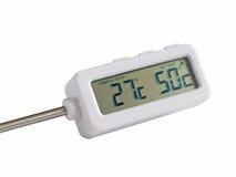 Termometro elettronico Fotografie Stock