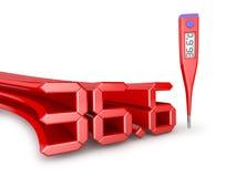 Termometro elettronico medico Fotografie Stock