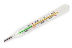 Termometro medico Fotografia Stock Libera da Diritti