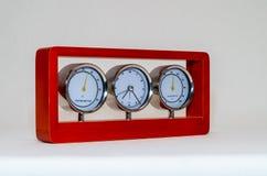 Termometru higrometr i Obraz Royalty Free