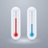 Termometru wektoru ikony. Zdjęcia Royalty Free