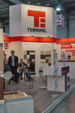 Termopal furniture components company booth Stock Photos