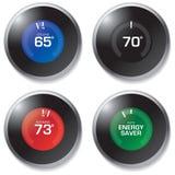 termostato Imagens de Stock Royalty Free