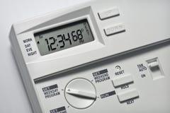 Termostato 68 graus de calor Fotos de Stock Royalty Free