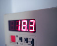 Termostato per la HVAC Fotografia Stock Libera da Diritti
