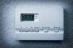 termostatväggwhite Royaltyfria Foton