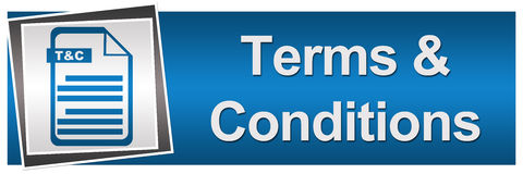 Terms and Conditions Horizontal Stock Photos
