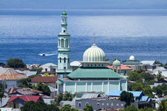 Ternate Mosque. The main mosque on the Indonesia island of Ternate royalty free stock image