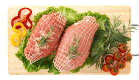 Ternera de carne asada Imagen de archivo
