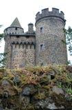 Ternes de DES de château, le Cantal (Frances) Photo stock