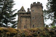 Ternes de DES de château, le Cantal (Frances) Images stock