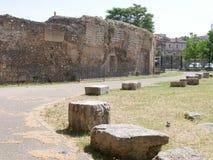 Terni - римский амфитеатр Стоковое Фото