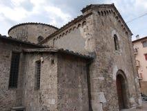 Terni - chiesa della st Salvador Fotografia Stock