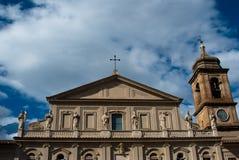 Terni, Dome. Image of Terni. Italy region umbria. Campanile of dome Stock Image
