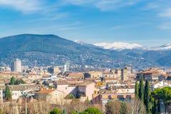 Terni Umbria, Italien Arkivbilder