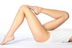 Terno branco do corpo Imagens de Stock