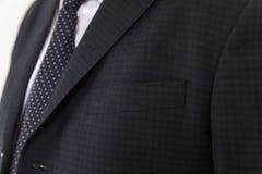 Terno chique e à moda Negócio, decote, clássico, elegância Foto de Stock