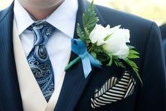 Terno da cerimónia Imagem de Stock Royalty Free