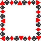 Terno do quadro Carde o vetor do ícone do terno, vetor dos símbolos dos cartões de jogo ilustração do vetor