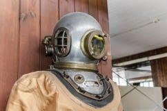 Terno do vintage de um mergulhador Foto de Stock