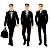 Terno e smoking do ` s dos homens do casamento coleção Imagens de Stock Royalty Free