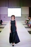 TERNOPIL УКРАИНА - 17-ОЕ МАЯ: Неделя моды Podolyany 17-ое мая 2015 Стоковая Фотография RF
