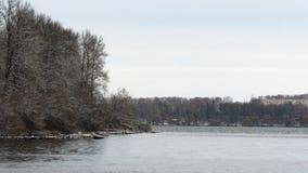 Free Ternopil Lake In Winter / 3/12/2019 Stock Image - 165639091