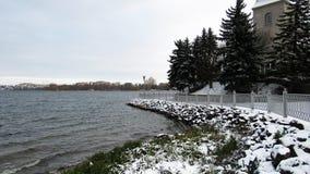 Free Ternopil Lake In Winter / 3/12/2019 Stock Photos - 165639263