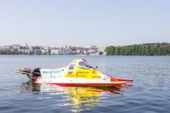 Racing watercraft F500 royalty free stock image
