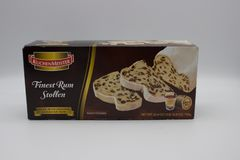 Stollen - traditional German Christmas cake royalty free stock images